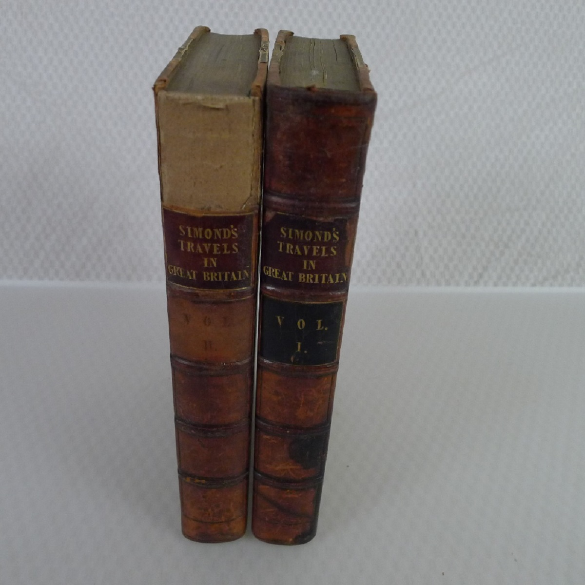 Simond's Travels in Great Britain Volumes I and II, Second Edition published in 1817, being a