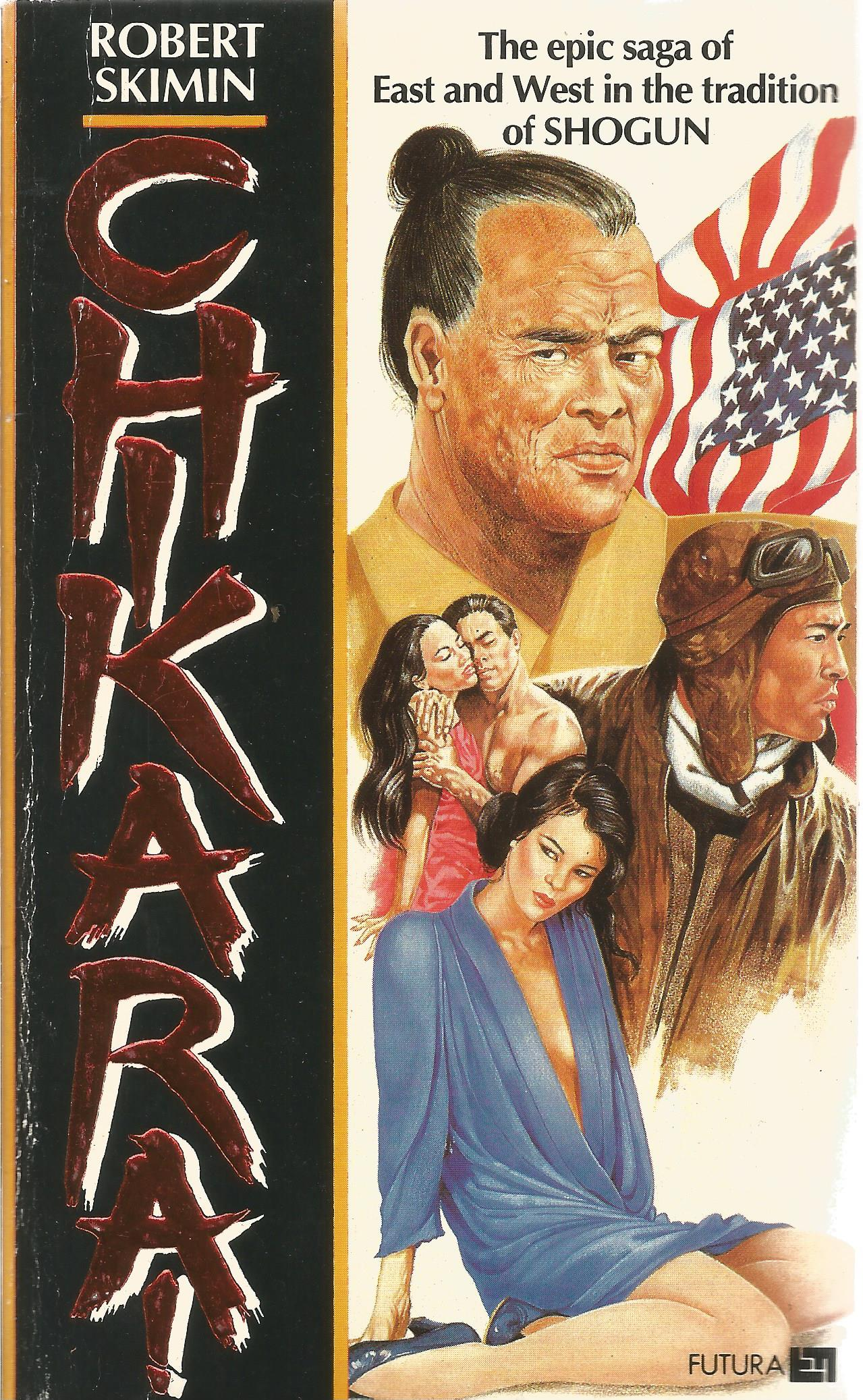 Robert Skimin Paperback Book The epic saga of East and W in the Tradition of Shogun signed by the