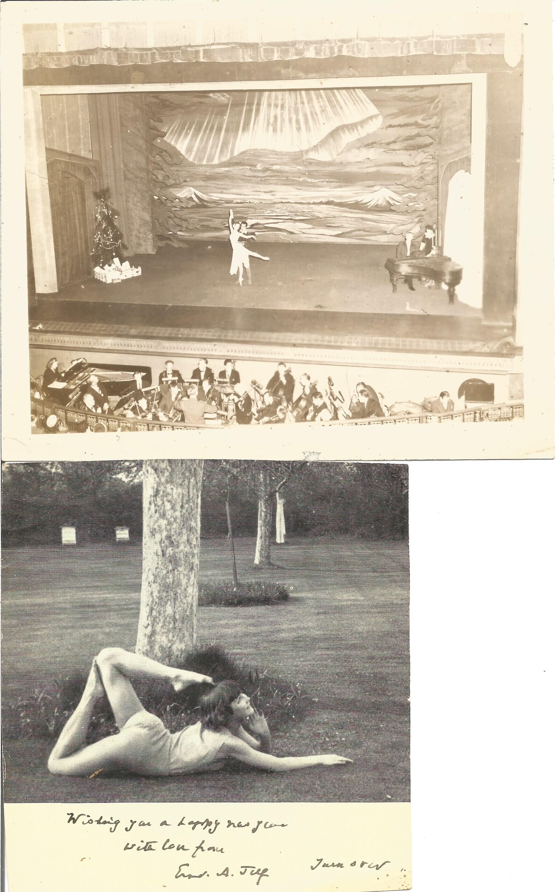 Signed Hardback Book Theory & Practice of Classical Theatrical Dancing Cyril W Beaumont & - Image 5 of 5