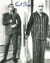 Paul Sassino James Bond signed 10 x 8 inch b/w photo