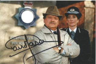 David Jason as Frost signed 6 x 4 inch colour photo