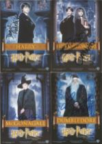Harry Potter signed postcard collection Philosophers Stone