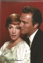 Christopher Plummer signed 12 x 8 inch colour photo from Sound of Music