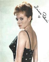 Luciana Paluzzi signed 10 x 8 inch colour James Bond photo