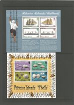 Pitcairn Islands, First Day Covers and miniature sheets. Good condition. We combine postage on