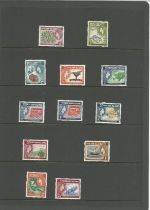 Pitcairn Islands, 1957, 12 stamps, mint condition. Good condition. We combine postage on multiple