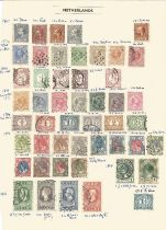 Netherlands, 1867/1913, stamps on loose sheet, approx. 40. Good condition. We combine postage on