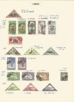 Liberia, Lorenzo Marques, Funchal, stamps on loose sheets, approx. 20. Good condition. We combine