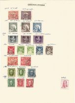 Czechoslovakia, Finland, stamps on loose sheets, approx. 50. Good condition. We combine postage on