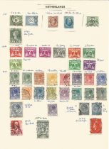 Netherlands, 1852/1939, stamps on loose sheet, approx. 25. Good condition. We combine postage on