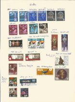 Malta, stamps on loose sheets, approx. 45. Good condition. We combine postage on multiple winning