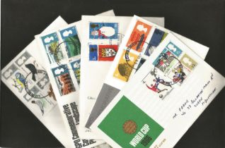 39 Great Britain First Day Covers, 1966/1985. Good condition. We combine postage on multiple winning