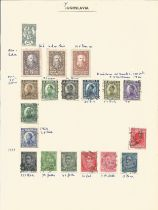 Yugoslavia, stamps on loose sheets, 1920/1963, approx. 30. Good condition. We combine postage on