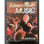 Former Prime Minister Edward Heaths book Music signed paperback copy. Sir Edward Richard George