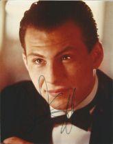 Actor Christian Slater signed 10x8 colour image. Christian Michael Leonard Slater is an American
