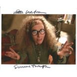 Actress Emma Thompson signed 10x8 colour photo in character as Sybil Trelawney in the Harry Potter
