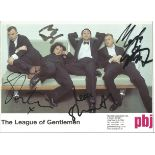 Comedy series The League of Gentleman - signed 8x6 colour promotional photo signed by the 4