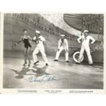 Actress Vera Ellen signed vintage black and white promotional 10x8 photo for Three Little Words.