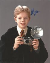 Actor Hugh Mitchell signed 10x8 colour photo in character as Colin Creevey from the Harry Potter