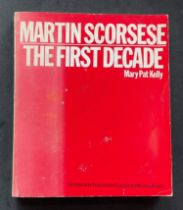 Actor and Director Martin Scorseses biography The First Decade signed on the first page. An