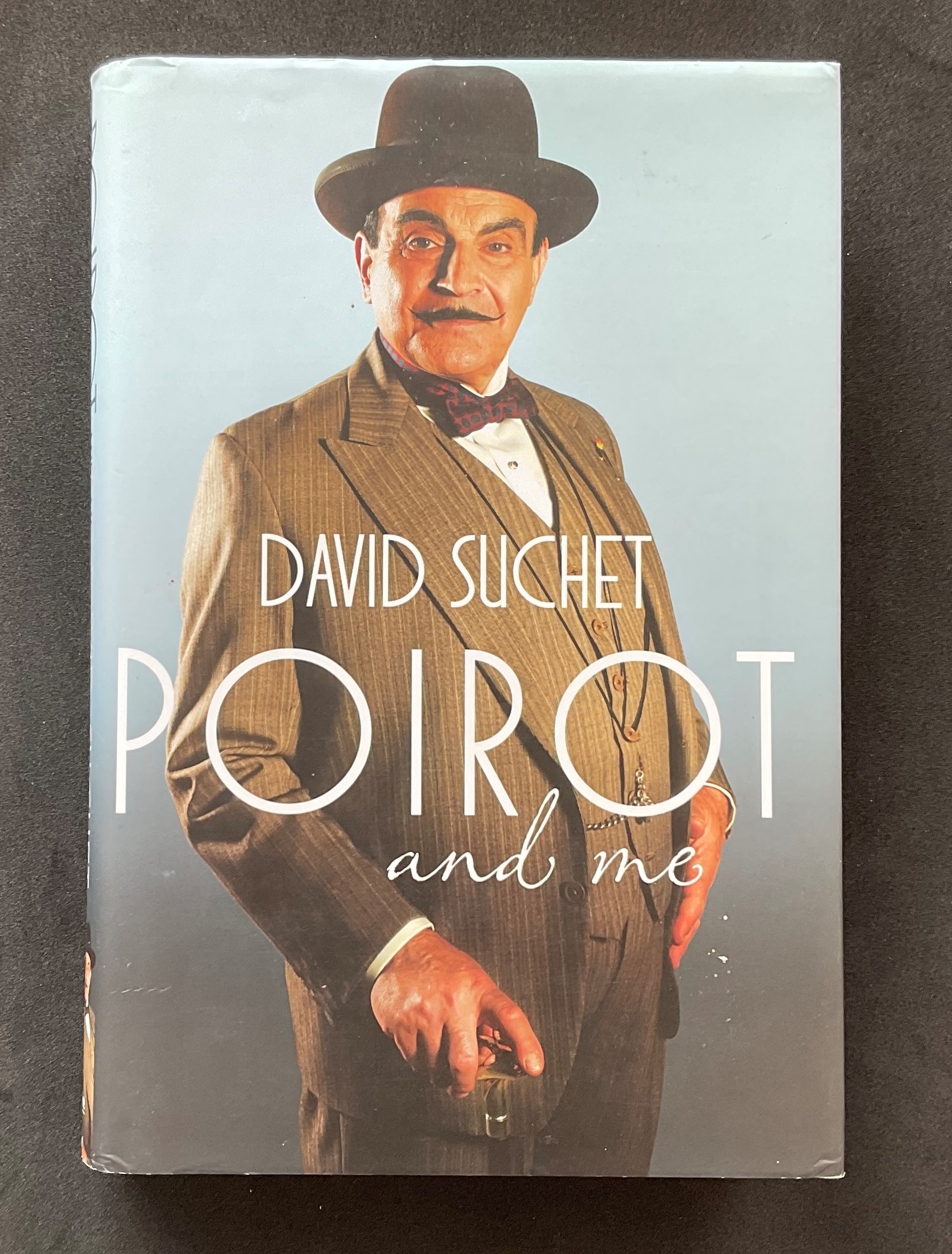 Actor David Suchet's autobiography Poirot and Me, signed. Sir David Courtney Suchet, CBE is an