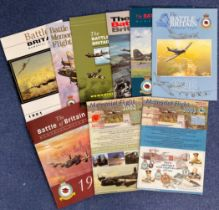 WW2 Collection of 9 Battle Of Britain Magazines. 7 Official RAF Battle of Britain Magazines all