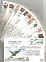 WW2 Collection of 11 Aircraft FDCs. 1 Signed 10 unsigned RAF Covers. RAF FF 33 Signed by Mayor