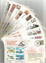 WW2 Collection of 29 Flown covers A Mixture of FDCs 13 Signed 16 Unsigned. Signatures include