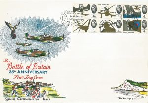 WW2 Collection of 24 Unsigned Flown covers Inc Benham covers. All FDCs Have Official postmark
