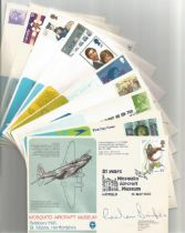 A Good Collection Of 20 signed Mosquito Aircraft Museum Flown covers. MAM 1 Signed by GP Aird and