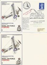 WW2 Collection of 7 Printers Colour Trials Flown covers. Unsigned. Unusual. Codes : SC19/16 SC19/