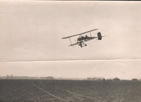 Rare collection of 5 Vintage Black and white photos from 1920 s Era of Type G2 No. 27 Breguet