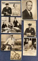 7 Sir Tom Sopwith Vintage photo collection Black and white photos variation in sizes one photo shows