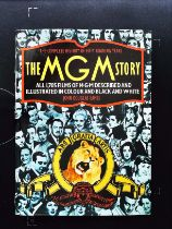 The MGM Story The Complete History Of 50 Roaring Years hardback book by John Douglas Eames.