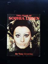 The Films Of Sophia Loren paperback book by Tony Crawley. Published 1074 LSP Books First Edition