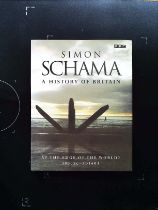 A History Of Britain AT The Edge Of The World? 3000 BC AD 1603 hardback book by Simon Schama
