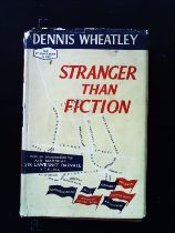 Stranger Than Fiction hardback book by Dennis Wheatley. Published 1959 Hutchinson and Co. 1st