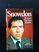 Snowdon A Man For Our Times hardback book by David Sinclair. Published 1982 Proteus Books 1st