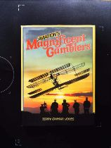 Aviation's Magnificent Gamblers hardback book by Terry Gwynn Jones signed by author. Published