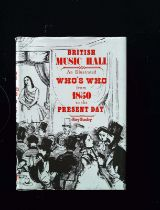 British Music Hall An Illustrated Who's Who From 1850 To The Present Day hardback book by Roy Busby,