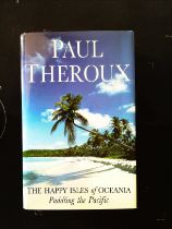The Happy Isles Of Oceania Paddling The Pacific hardback book by Paul Theroux. Published 1992 Hamish