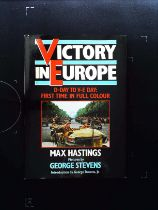 Victory In Europe D Day To V E Day 1st Time In Full Colour hardback book by Max Hastings and