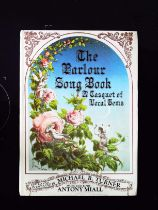 The Parlour Song Book A Casquet Of Vocal Gems hardback book by Michael R. Turner, music edited by