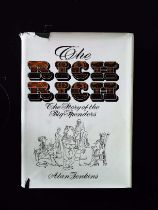 The Rich Rich The Story Of The Big Spenders hardback book by Alan Jenkins signed by author,