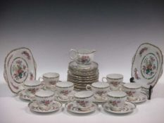 Mixed china and glassware, including vases and bowls