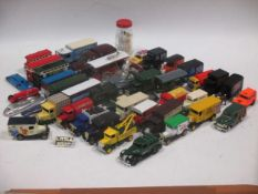A quantity of Matchbox, Dinky and later diecast models