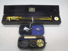 A cased Planimeter by Halden of Manchester and an ophthalmoscope by Curry and Paxton (2)
