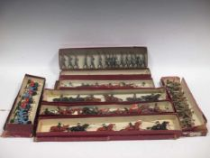 Britains Turcos 191, with various figures, boxed; German Infantry 432 box with 16 figures;