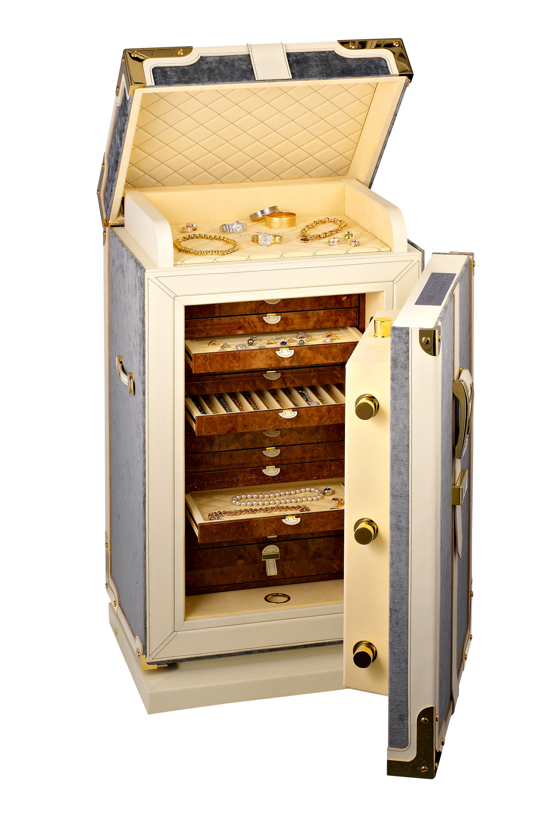 Döttling 'Pauline' - A luxury compact hand made free-standing safe,