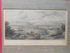 After Thomas Willam Bowler, seven tinted lithographed views of South Africa: Main Street Port